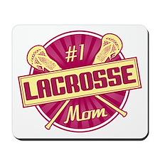 #1 Lacrosse Mom Mousepad