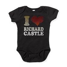 iheartrichardcastledk..png Baby Bodysuit