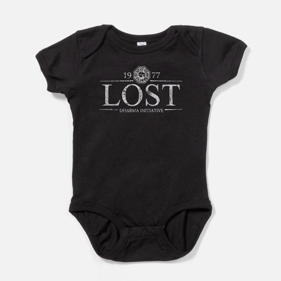 LOSTDI1977TSHIRT.png Baby Bodysuit