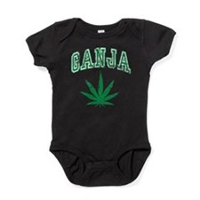 Ganja weed.png Baby Bodysuit
