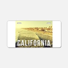 On the Shore Aluminum License Plate
