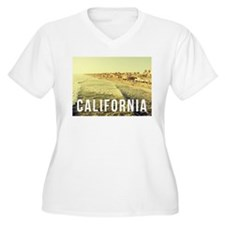 On the Shore Plus Size T-Shirt