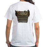 1099 Back - HFpack Green Camo Front -white T