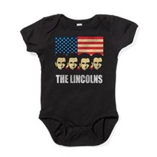 thelincolns2.png Baby Bodysuit