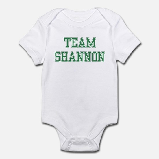 TEAM SHANNON  Infant Bodysuit