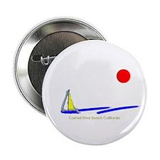 """Carpinteria City 2.25"""" Button (100 pack)"""