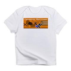 Cerebros Boricuas Infant T-Shirt