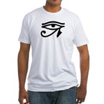 Eye of Horus Fitted T-Shirt