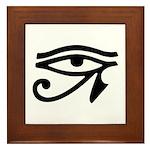 Eye of Horus Framed Tile