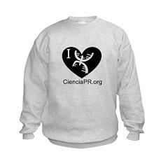 Little Brains: I love Sweatshirt