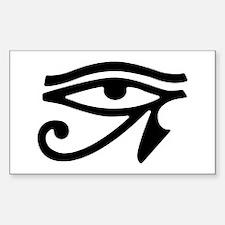 Eye of Horus Rectangle Decal