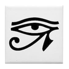 Eye of Horus Tile Coaster