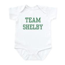 TEAM SHELBY  Infant Bodysuit