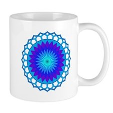 Blue Lotus Mandala Mug