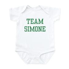 TEAM SIMONE  Infant Bodysuit