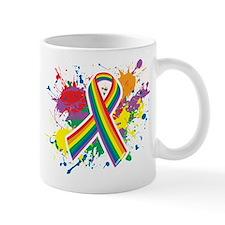 LGBTQ Paint Splatter Mug