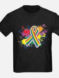 LGBTQ Paint Splatter T-Shirt