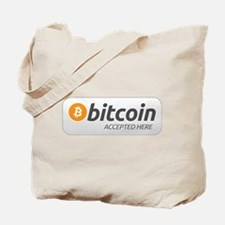 BitcoinAcceptedHere Tote Bag