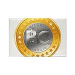 BitcoinEuro Rectangle Magnet