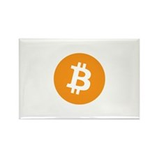 OriginalBitcoinLogo Rectangle Magnet