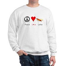 Peace Love Lefse Sweatshirt