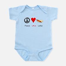Peace Love Lefse Infant Bodysuit