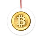 BitcoinGold Ornament (Round)