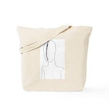 zipperhead1 Tote Bag