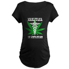 Medical Marijuana Maternity T-Shirt