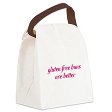 gluten free buns are better Canvas Lunch Bag