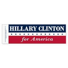 Hillary Clinton for America Bumper Sticker