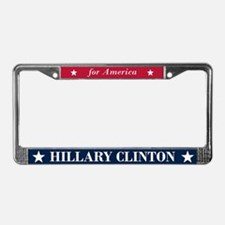 Hillary Clinton for America License Plate Frame