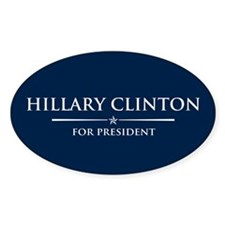 Vote Hillary Clinton Decal