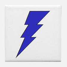 The Lightning Bolt 7 Shop Tile Coaster