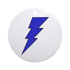 The Lightning Bolt 7 Shop Ornament (Round)