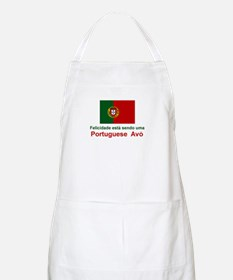 Happy Portuguese Avo (Grandmother) BBQ Apron