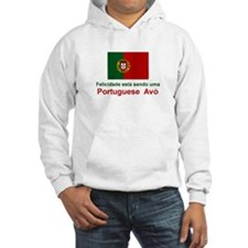 Happy Portuguese Avo (Grandmother) Jumper Hoody