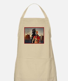 BBQ Apron, Mighty Ikaika Warrior