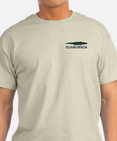 Islamorada - Alligator Design. T-Shirt