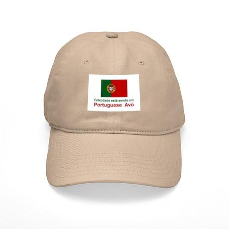 Happy Portuguese Avo (Grandfather) Cap