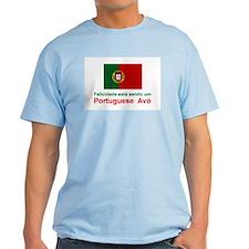 Happy Portuguese Avo (Grandfather) Color T-Shir