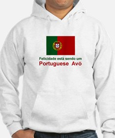 Happy Portuguese Avo (Grandfather) Jumper Hoody