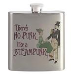 No Punk Like a Steampunk Flask