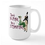 No Punk Like a Steampunk Large Mug