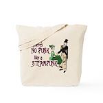 No Punk Like a Steampunk Tote Bag