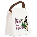 No Punk Like a Steampunk Canvas Lunch Bag