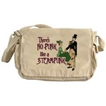 No Punk Like a Steampunk Messenger Bag