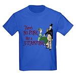 No Punk Like a Steampunk Kids Dark T-Shirt
