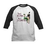 No Punk Like a Steampunk Kids Baseball Jersey