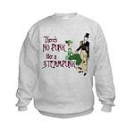 No Punk Like a Steampunk Kids Sweatshirt